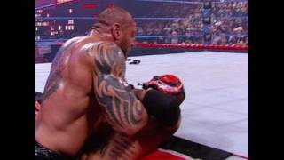 Batista attacks