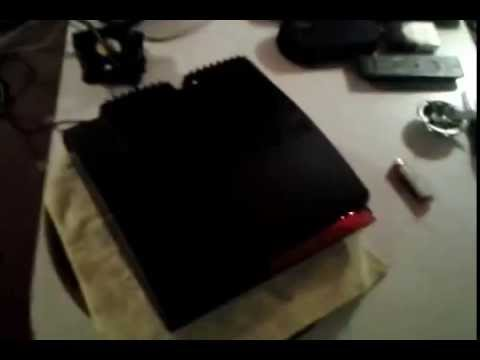PS3 Slim CaseMod Fix for Overheating Power Supply [cech2501a]