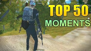 TOP 50 PUBG MOBILE  FUNNY EPIC FAIL & WTF MOMENTS