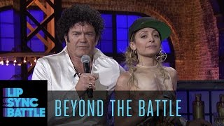 Beyond the Battle with Nicole Richie & John Michael Higgins | Lip Sync Battle