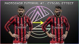 Photoshop tutorial - Cyborg