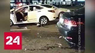 ДТП на Ленинском проспекте: столкнулись пять автомобилей, два человека пострадали - Россия 24