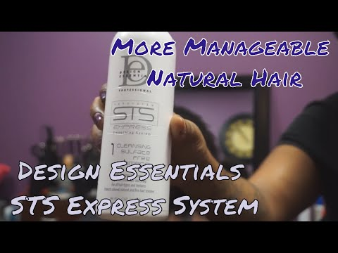 Design Essentials STS EXPRESS SYSTEM | How to make natural hair more manageable