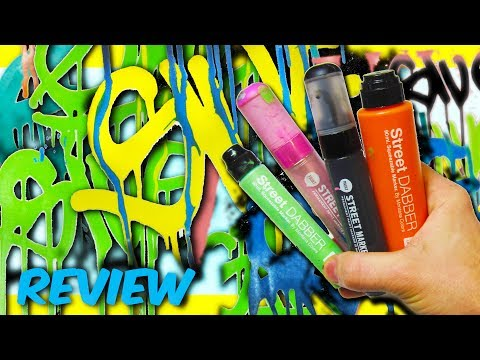 Montana Colors Street Paint Mop and Marker Graffiti Review