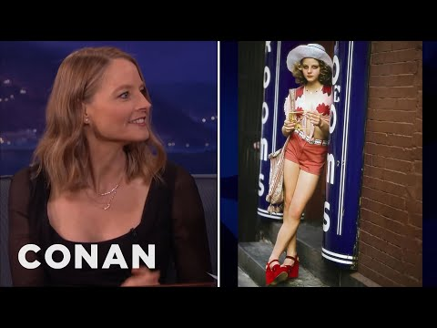 "Jodie Foster's Fond Memories Of ""Taxi Driver""  - CONAN on TBS"