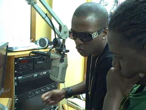 CHARLY BLACK  RADIO INTERVIEW IN GUYANA 1.AVI