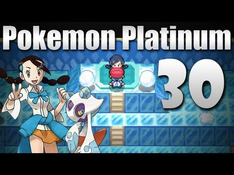 Pokmon Platinum - Episode 30 [Snowpoint City Gym]