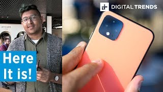 Google Pixel 4 First Look | Up close
