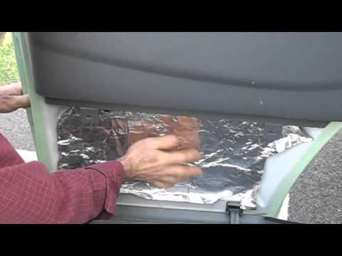 Camper Van Conversion. Part 3: Insulation