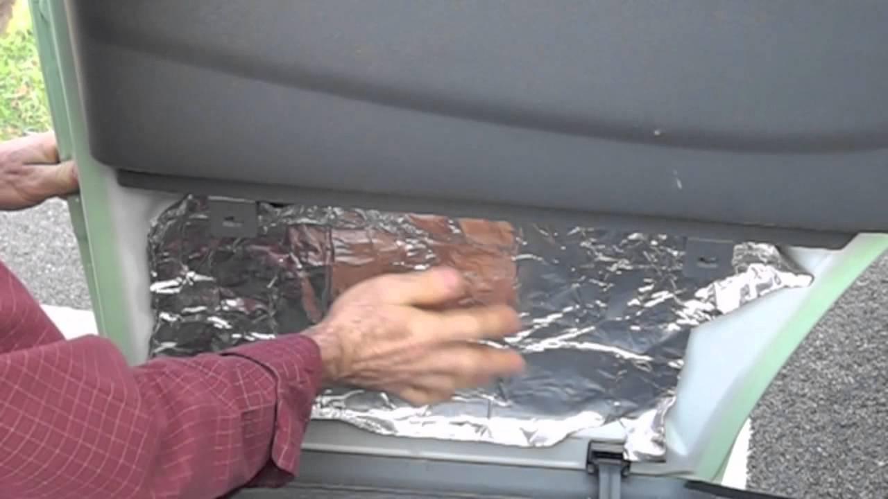 Camper Van Conversion Part 3 Insulation Youtube