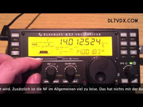 KX3 Fails 1 - Elecraft QRP Transceiver