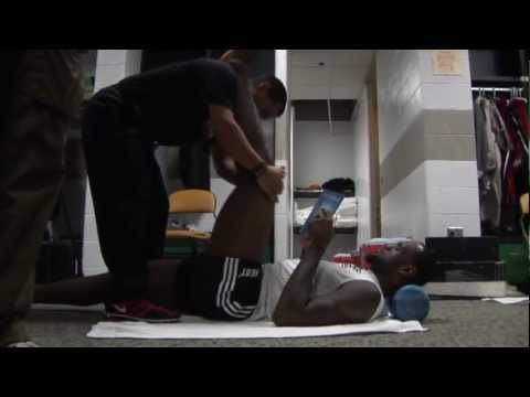 LeBron James Stretching & Cramps