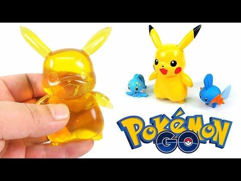 DIY POKEMON GO PIKACHU GUMMY! How To Make Pokemon Pikachu Figure Jelly -  Pocket Monsters [For Kids]