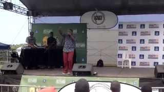 Lmass Performs Inyaka Nyaka at KMT Festival