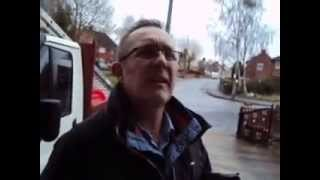 TV Licence goon gets owned after acting as a policeman (Must See!)
