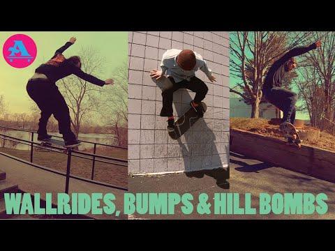 ALL I NEED SKATE WALLRIDES, BUMPS & HILL BOMBS featuring Goonan, Drowne, Egan, Klemme & Mansolillo