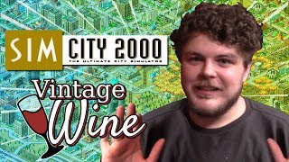 SimCity 2000 Install & Gameplay | Vintage WiNE