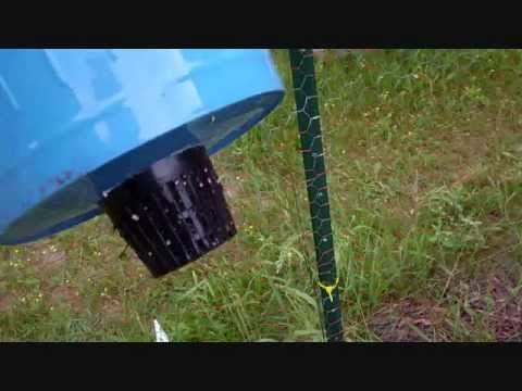 How To Build A Self Watering Rain Gutter Grow System!