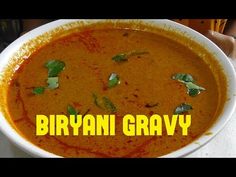 BIRYANI GRAVY RECIPE/home made biryani gravy/restaurant style gravy for biryani