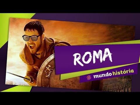 Roma - Monarquia e República - Mundo História - Videoaula ENEM