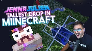 Tallest Drop in Minecraft!