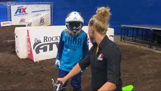 Cassidy tries Arenacross