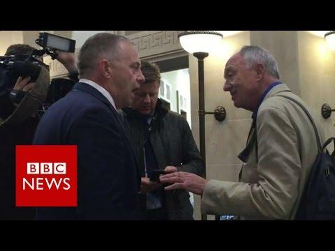 MP John Mann clashes with Ken Livingstone - BBC News
