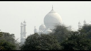 Taj Mahal from Red Fort, Agra