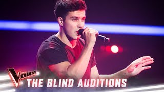 The Blind Auditions: Jesse Teinaki sings 'Youngblood' | The Voice Australia 2019