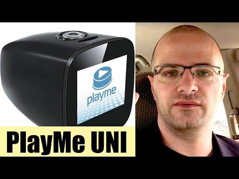 Видеорегистратор с Wi-Fi и GPS и магнитным креплением – Playme Uni