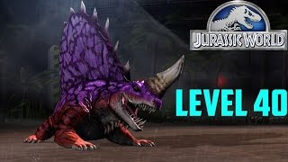Jurassic World The Game - Dimetrodon level 40