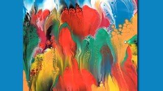 Акриловая краска и вода , ни силикона  ни горелки  и ваши очумелые ручки )))!