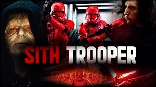 STAR WARS EPISODE 9 : LES SITH TROOPERS VONT-ILS OBÉIR À DARK SIDIOUS ?!