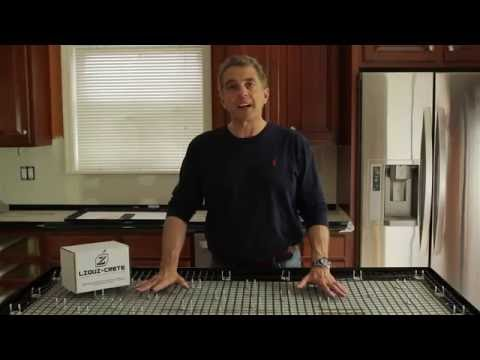 Z Counterform - How To Build Concrete Countertops Full Instructional Video