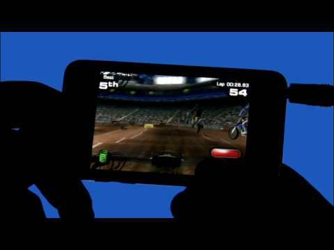 iPhone Racing Game - 2XL Supercross