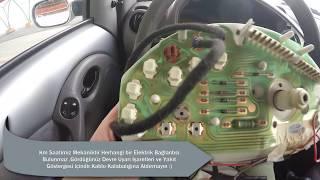 Kilometre Sensörü,Kilometre Teli,Kilometre Elemanları(Ford Vehicle Speed Sensor)