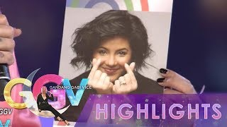 GGV: Vice Ganda gives Regine Velasquez-Alcasid her official ABS-CBN ID