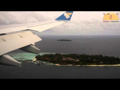 Oman Air - Airbus A330 Landing at Malé International Airport (Maldives)