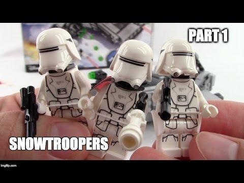 LEGO Snowtroopers - Star Wars First Order Snowspeeder 75100 - Let's Build! - Part 1