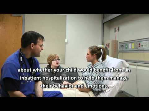 Child Mental Health Crisis In The Emergency Room