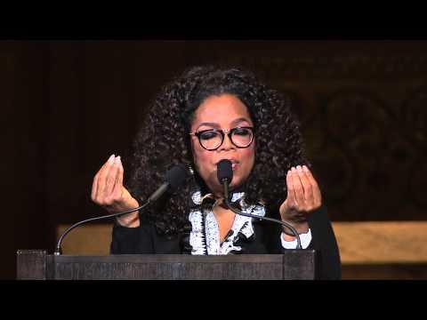 Oprah Winfrey delivers 2015