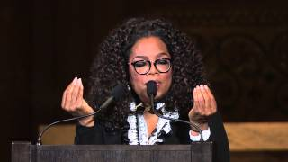 """Oprah Winfrey delivers 2015 """"Harry's Last Lecture"""" at Stanford University"""