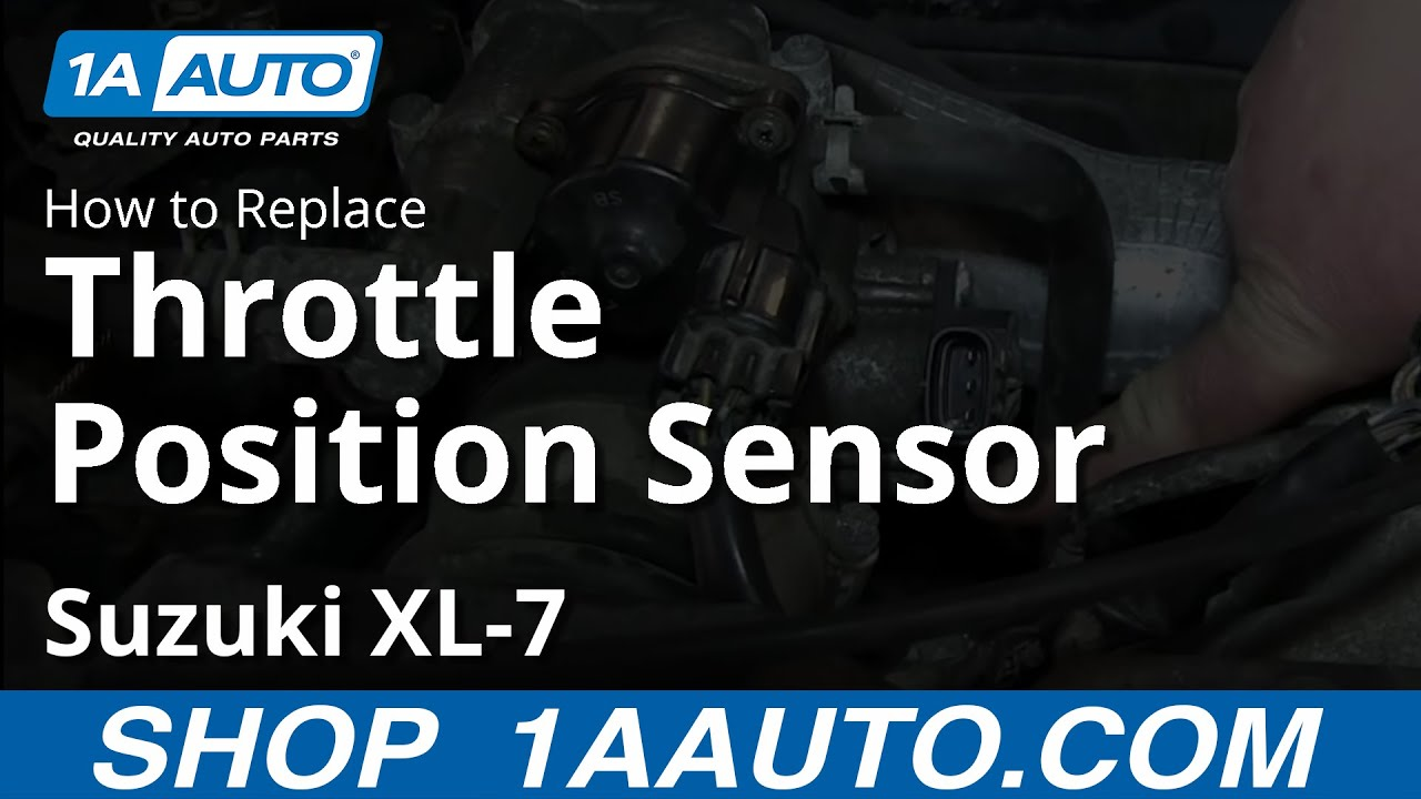 How To Install Replace Throttle Position Sensor Tps Suzuki