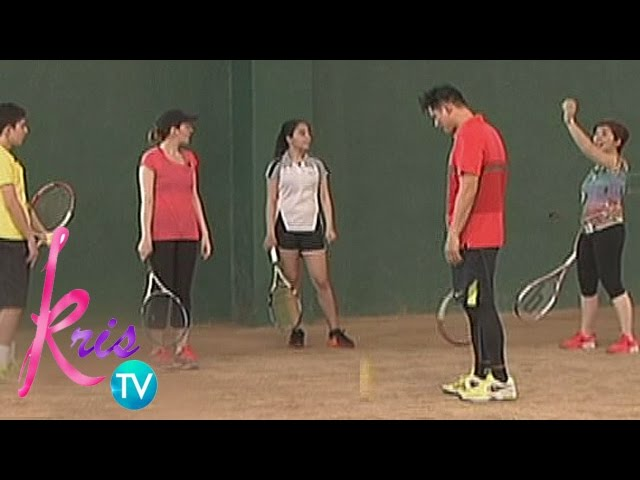 Kris TV: Legaspi family plays Tennis with Kris
