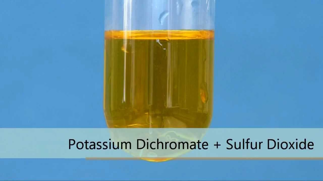 potassium dichromate solution essay The concentration of this volumetric solution was determined with sodium thiosulfate standard solution (article number 109147) standardized against volumetric standard potassium iodate (article number 102404.