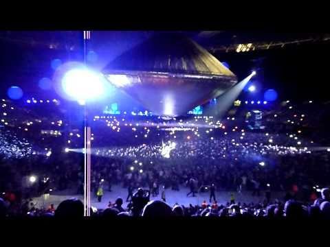 Muse Spaceship @ Wembley (Exogenesis Symphony Part 1. Overture)