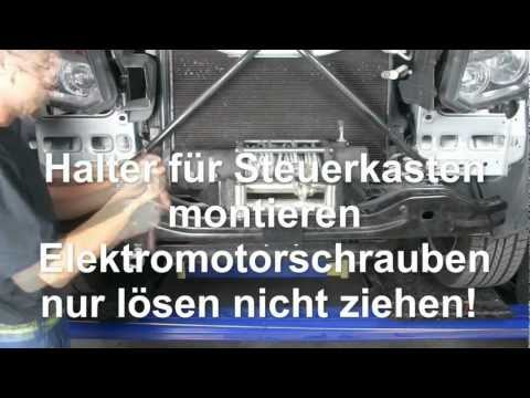 Einbauanleitung Alpha Rock Amarok Seilwinde winch VW