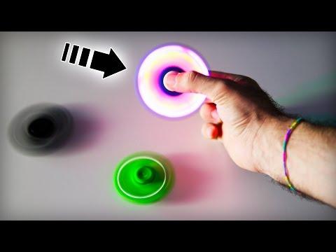 DUE NUOVI FIDGET SPINNER: A LED E NON