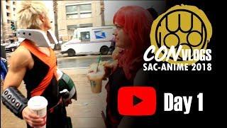 Iwood Cosplay Con Vlog Sac-Anime 2018 Winter [Day 1of 3]
