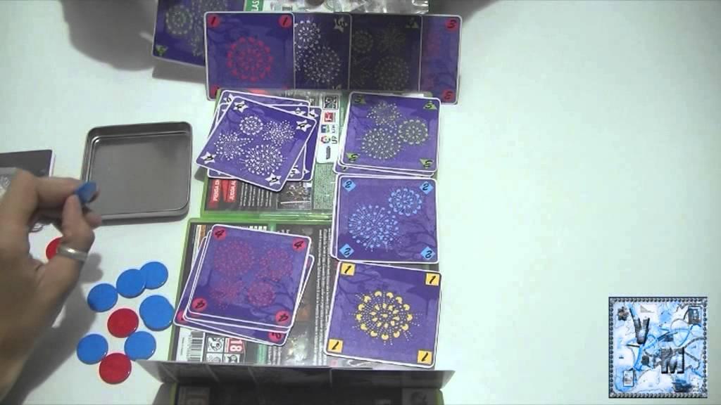 Hanabi juego de mesa gameplay youtube for Viciados de mesa